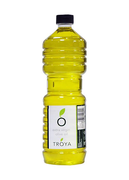 Масло, оливковое, экстра-верджин, ТРОЯ, 1л
