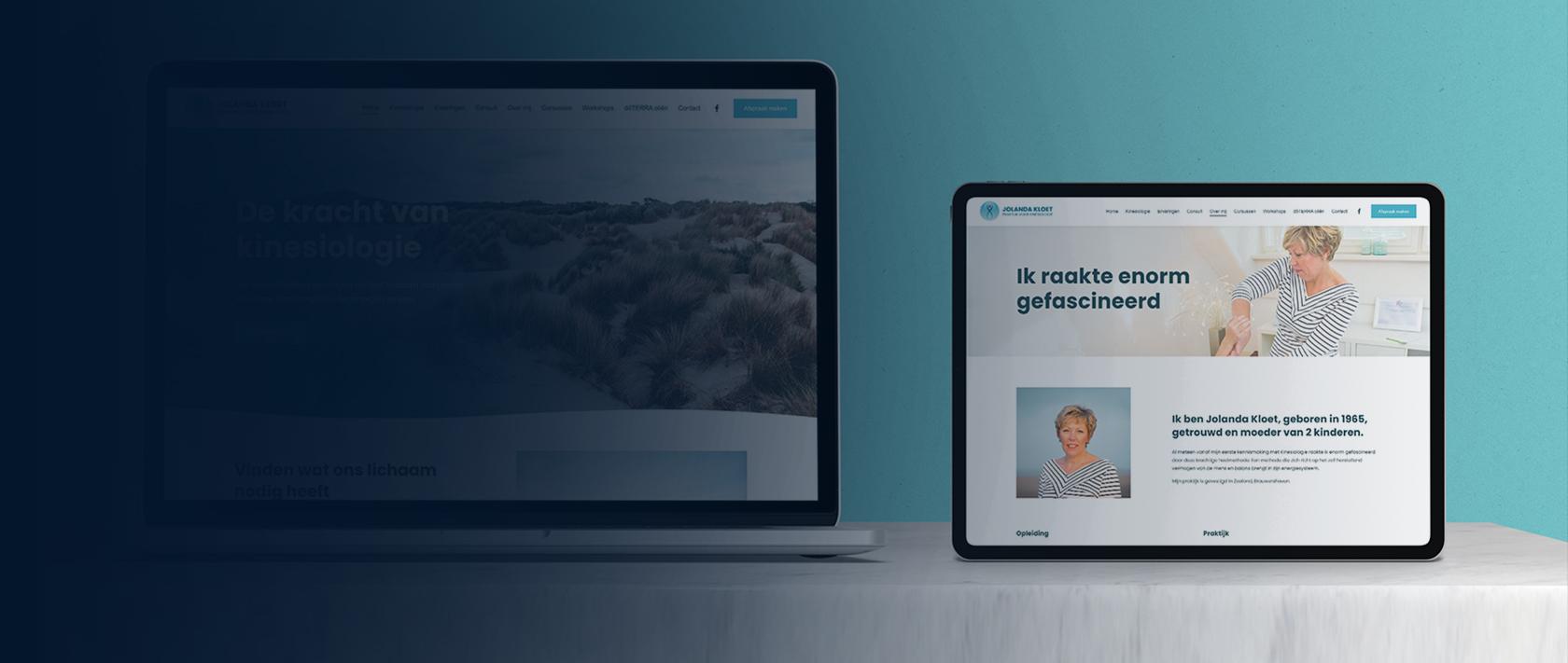 Webdesign project Jolanda Kloet