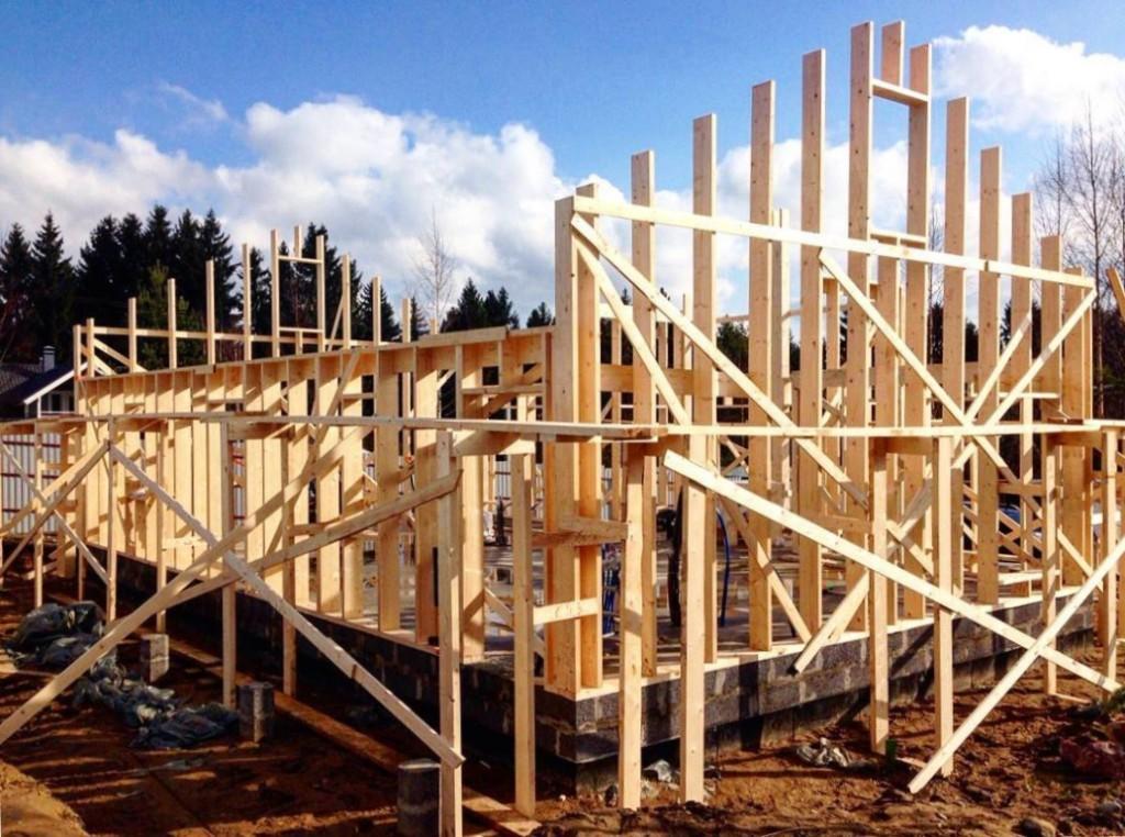 Строительство настоящих финских каркасных домов под ключ в Казахстане, Астана, Алматы, Чимкент, Караганда, Тараз, Москва
