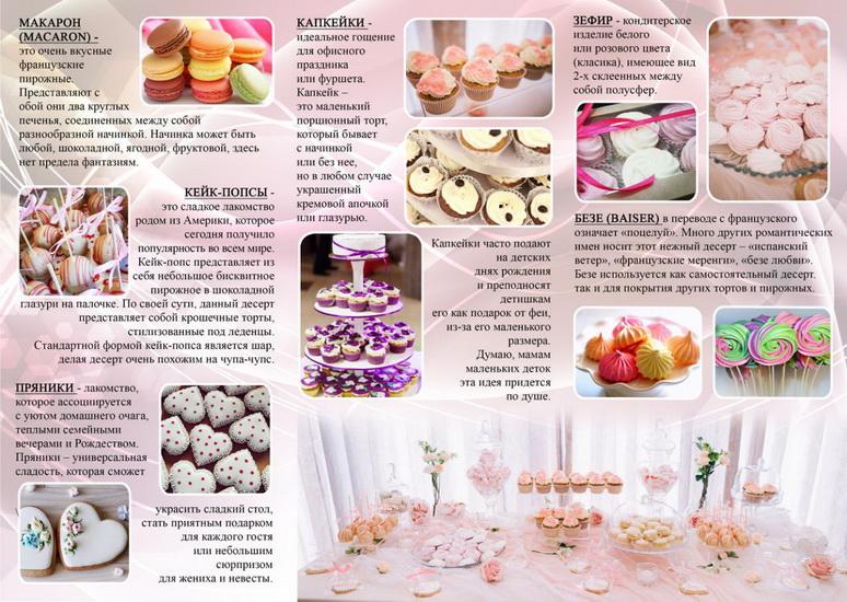 какой десерт в переводе с французского означает мороз