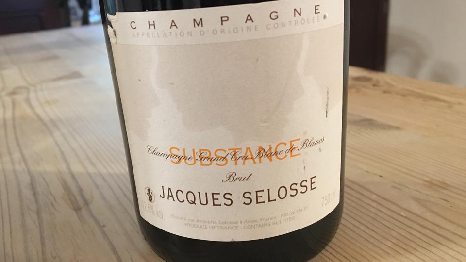 Champagne Jacques Selosse Substance Blanc de Blancs