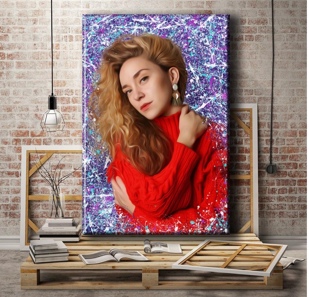 портрет красиво оформить по фото своими руками