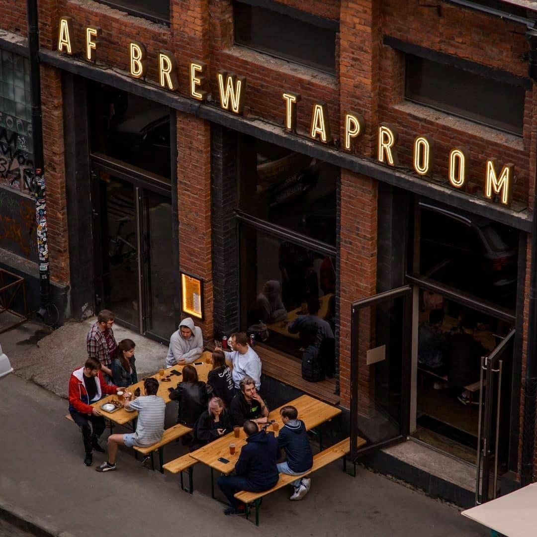 AF Brew Taproom, Санкт-Петербург