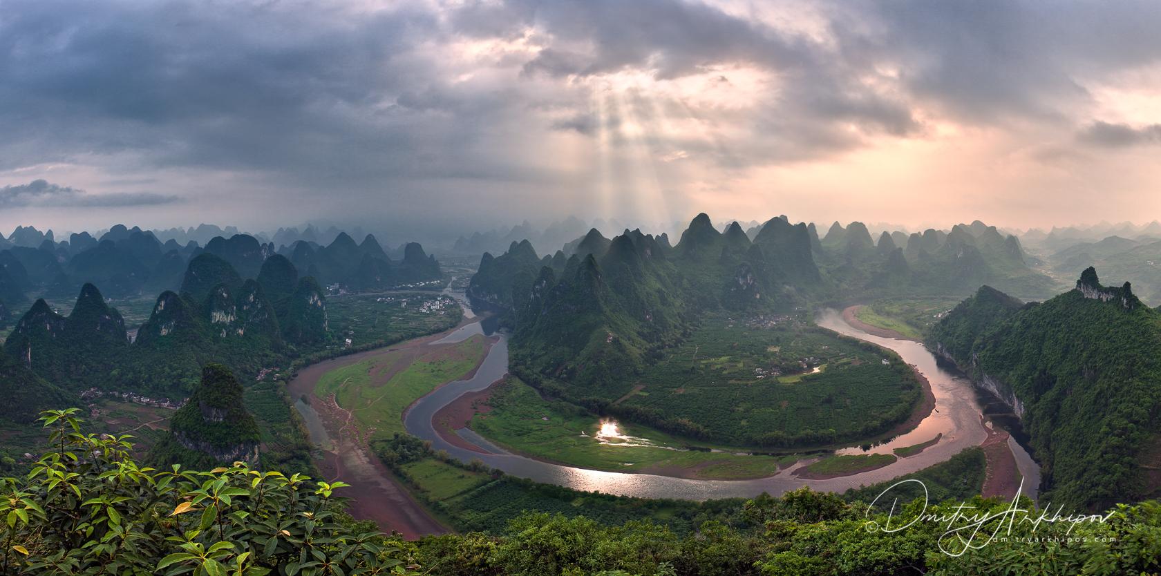 Horseshoe Li River, phototour