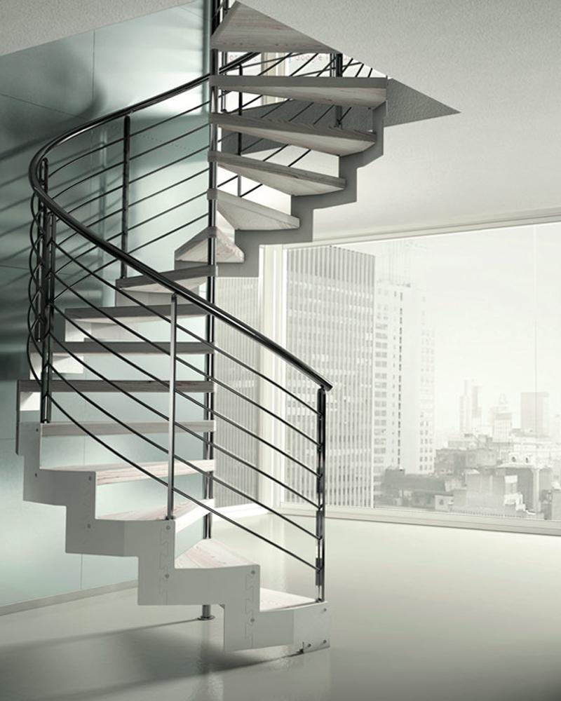 современная винтовая лестница
