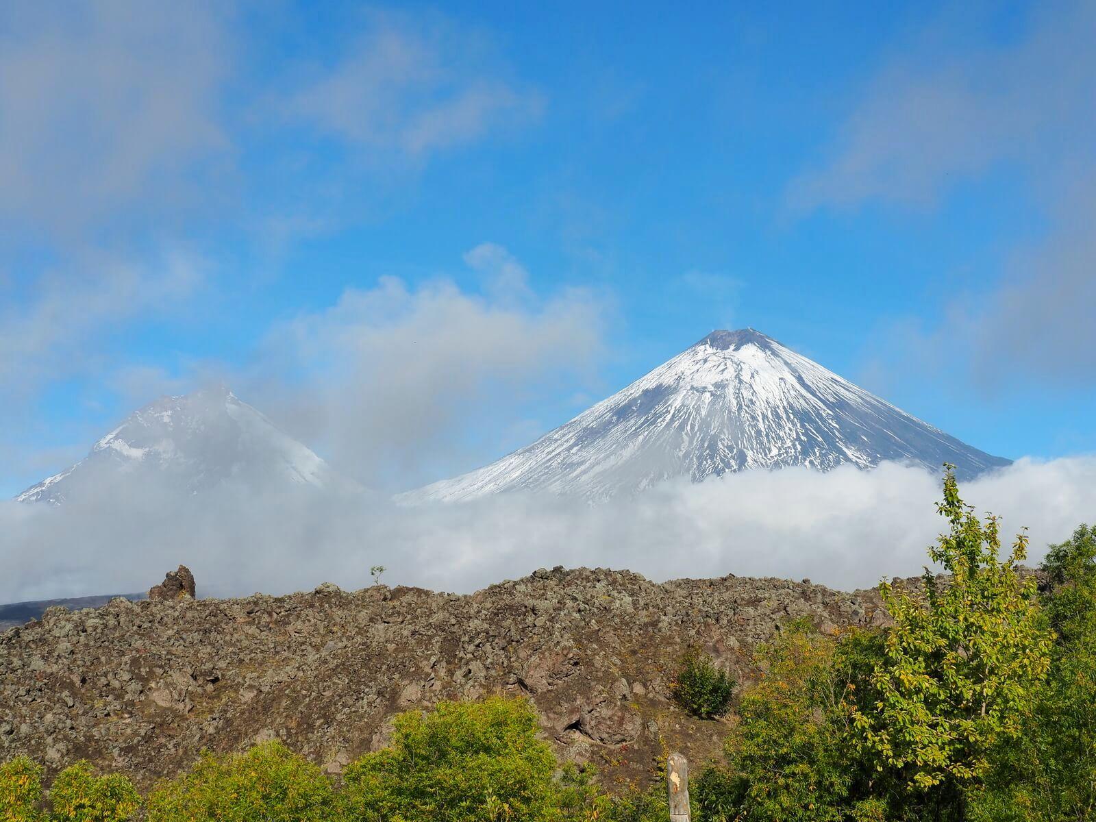 камчатка вулканы фото ключевская сопка просто