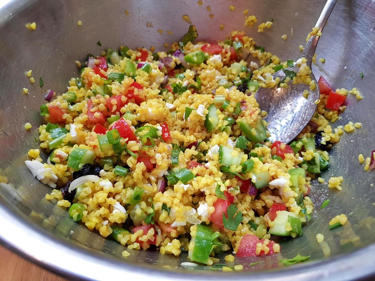 Салат Табуле (булгур) - подробный рецепт с фото. Вкусный Израиль.