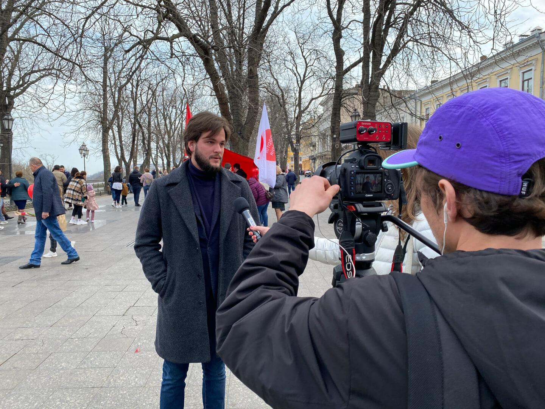 Глава Одесской областной организации Партии Шария в Одессе – Нагактин Алексей