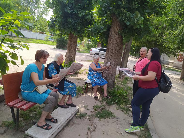 «Право на правду» в Новомосковском районе - фото