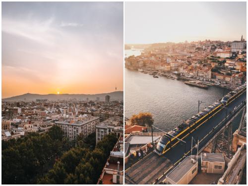 Барселона и Порту в ноябре