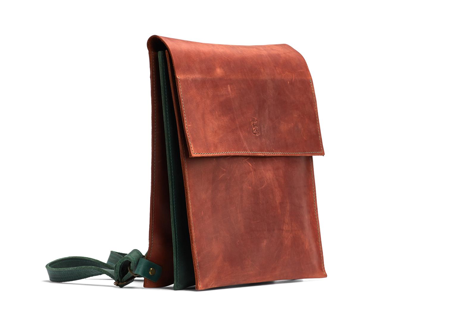 Шкіряний рюкзак WINDSOR | Shuflia