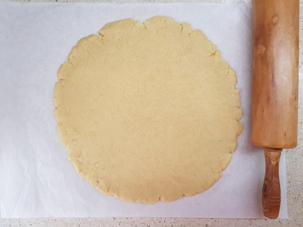 Песочное тесто для французского пирога Тарт Татен. Фото рецепт.