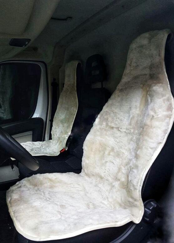 Купить овечьи накидки на сиденья автомобиля
