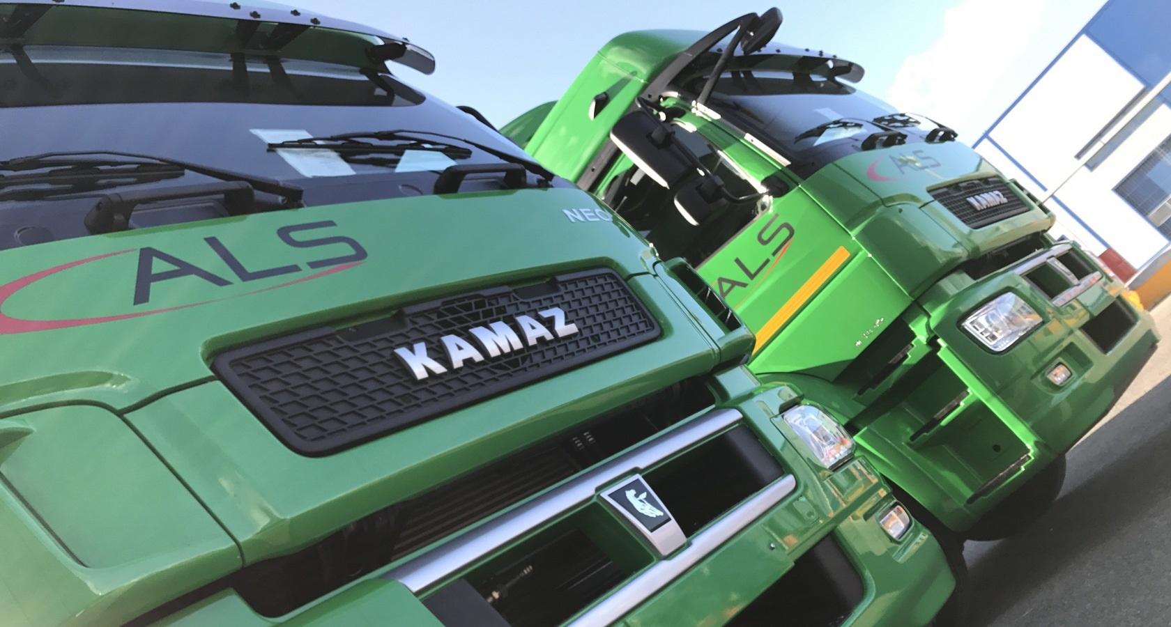 В 2017 году «Автологистика-транс» уже приобрела в лизинг 36 тягачей Камаз Neo (фото: «КамАЗ»)