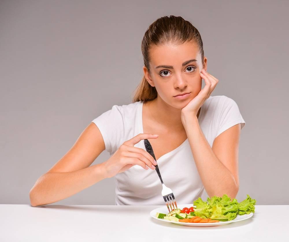 слабость при диете