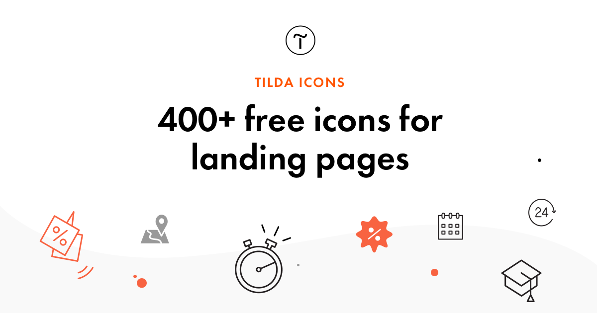 Free Icons — Tilda Publishing