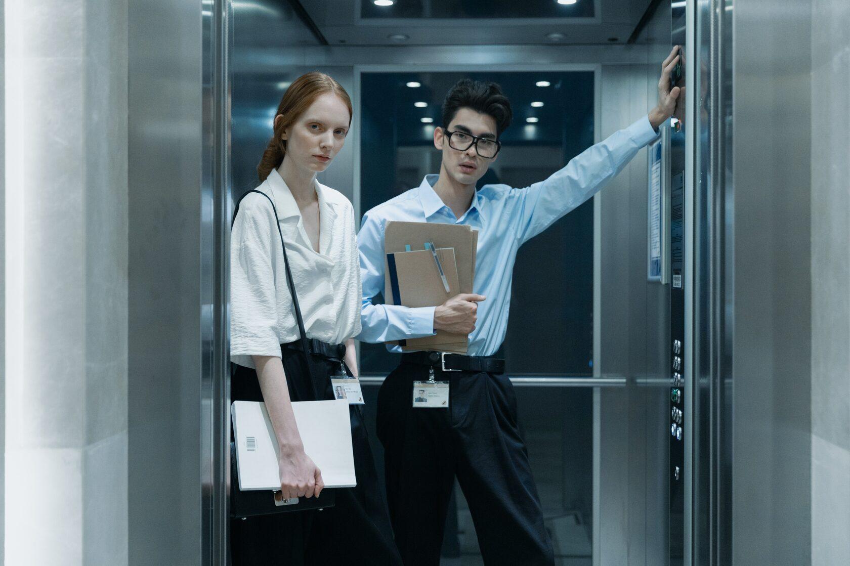 питч в лифте