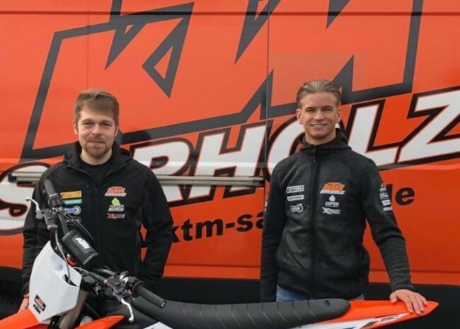 Кьель Вербрюгген подписывает контракт с KTM Sarholz Racing