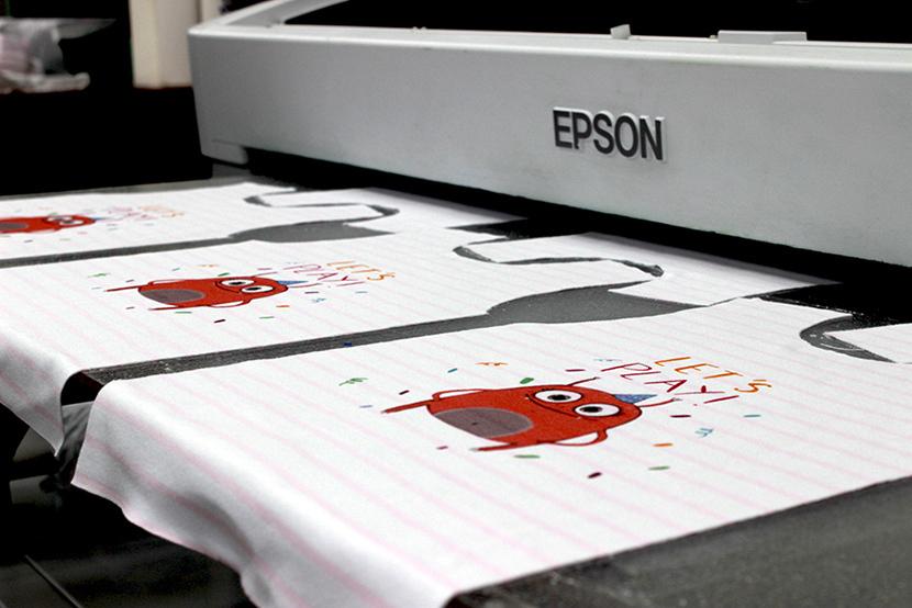 Какие есть виды печатей на тканях