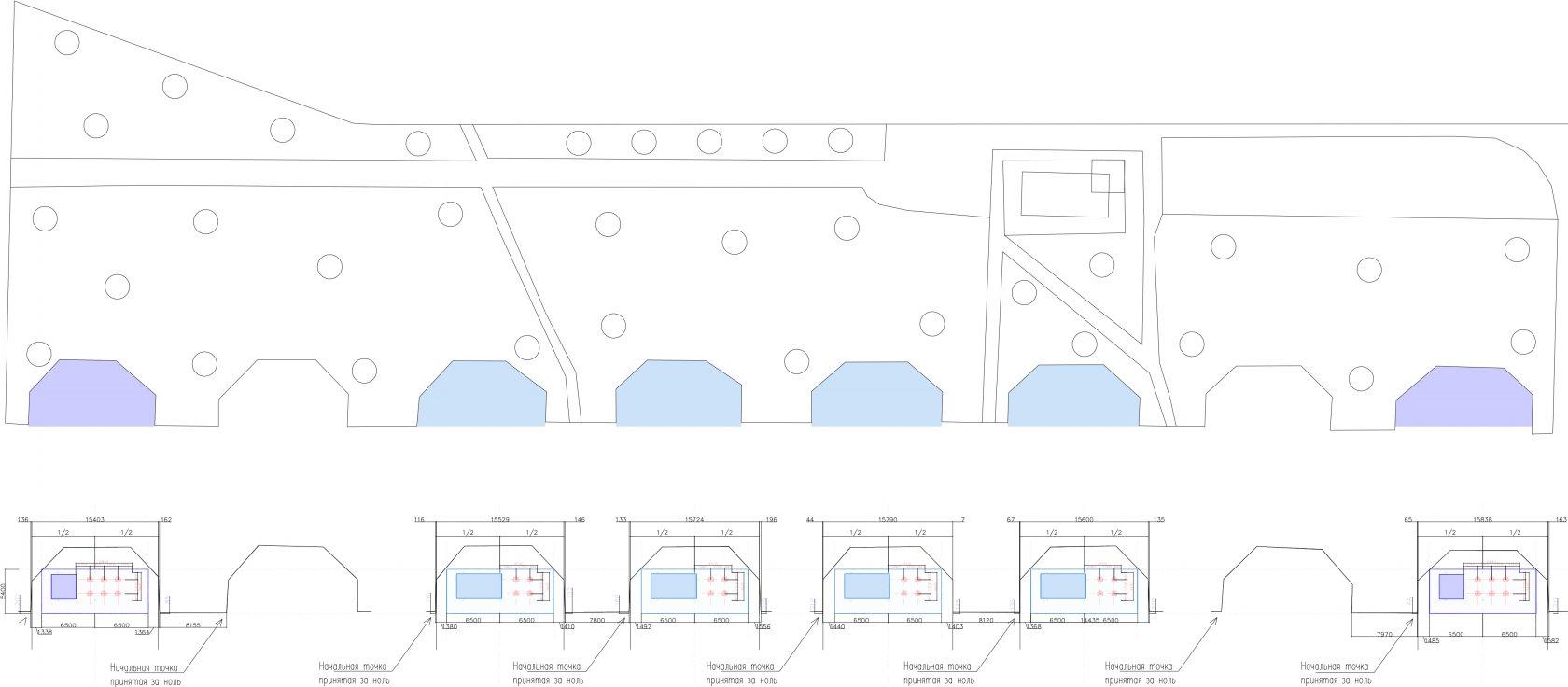 Scheme VDNH (pavilions)