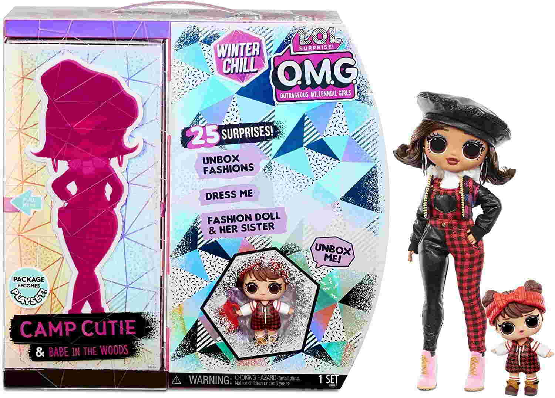 Кукла LOL OMG Camp Cutie