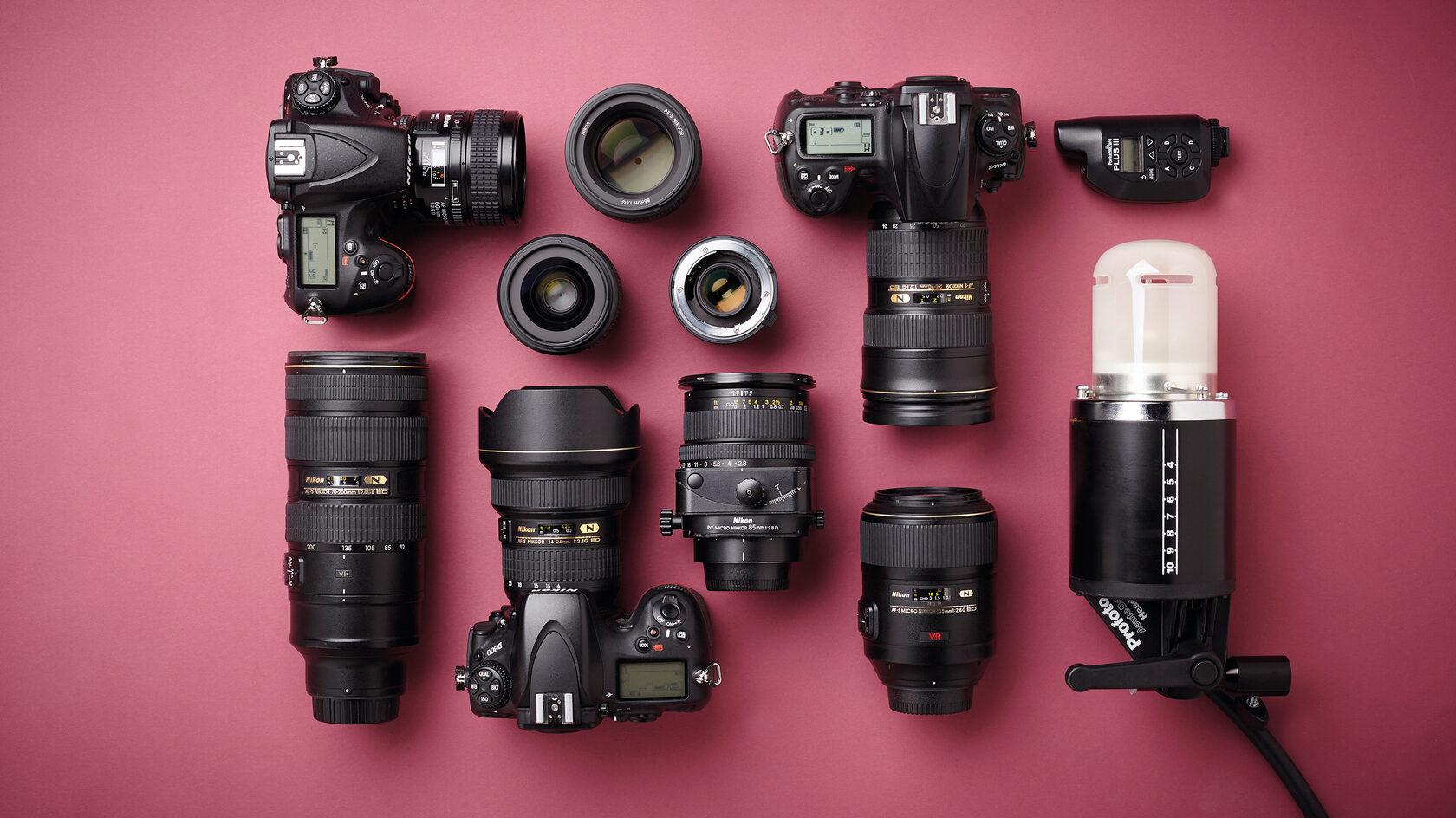Взять в аренду фототехнику в Минске можно в студии