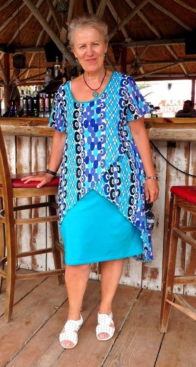 Модерни рокли за лято 2021 в размери 2XL, 3XL, 4XL