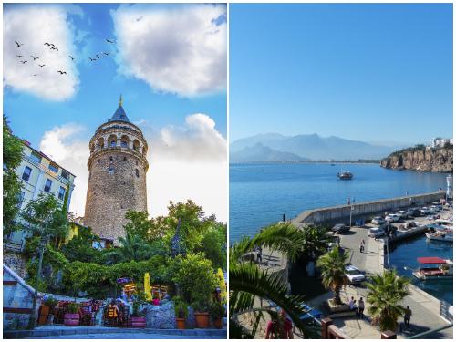 Стамбул и Анталья в ноябре