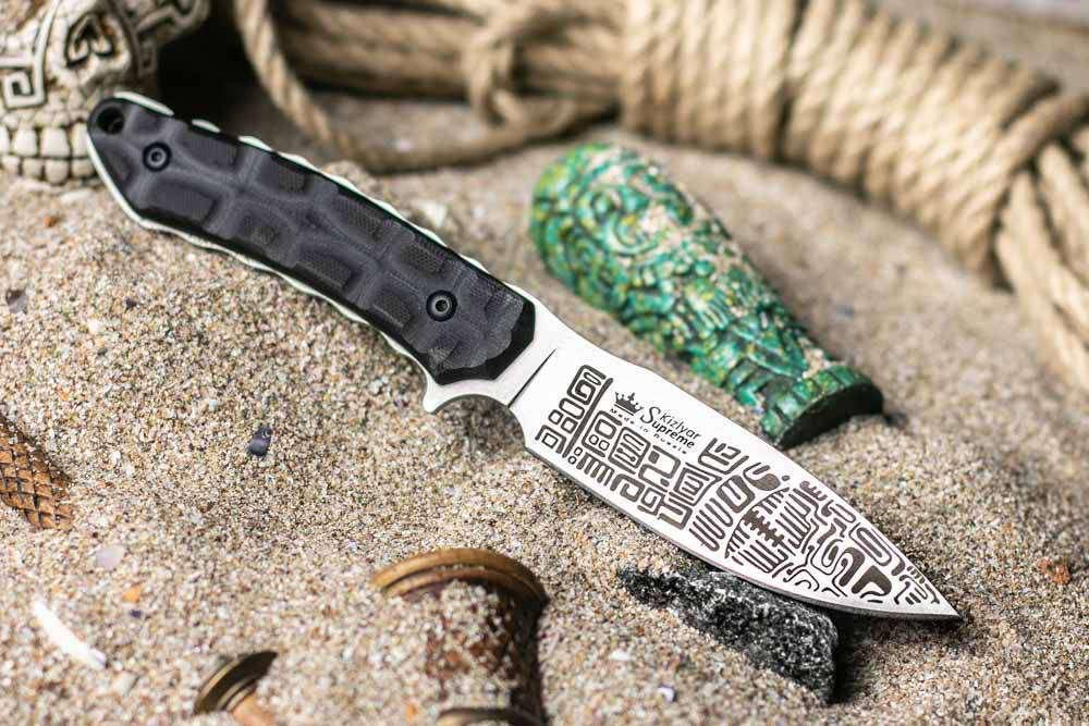 нож Kizlyar Supreme, Kizyar Supreme, нож Aztec D2, нож Kizlyar, купить нож Россия, Кизляр Суприм