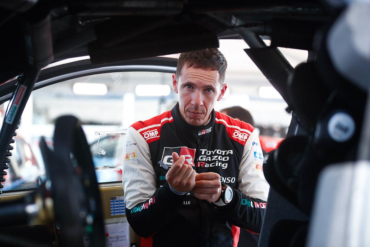 Жюльен Инграссиа, Toyota Yaris WRC, ралли Эстония 2021