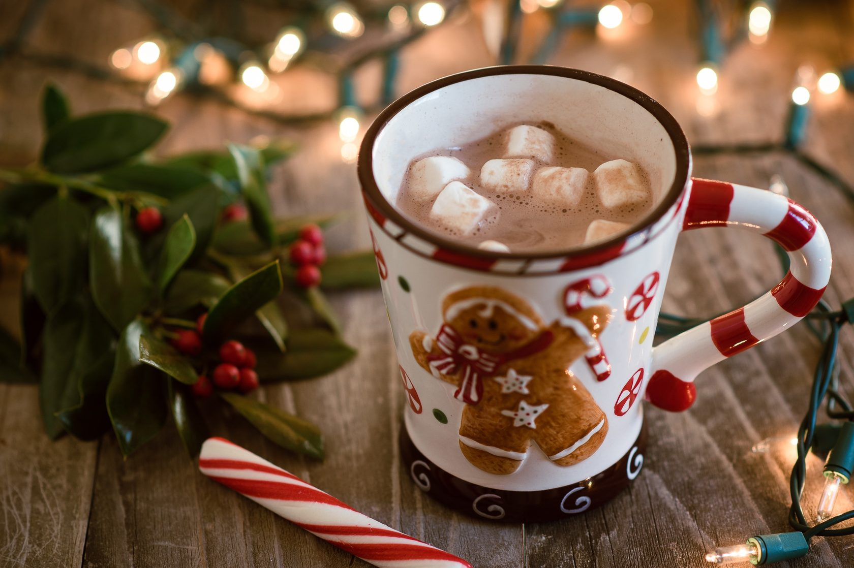 картинки кофе новогоднее настроение женщина хотела
