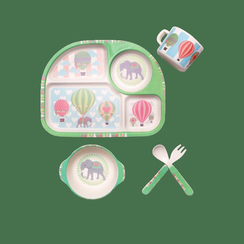 Набор посуды воздушные шары