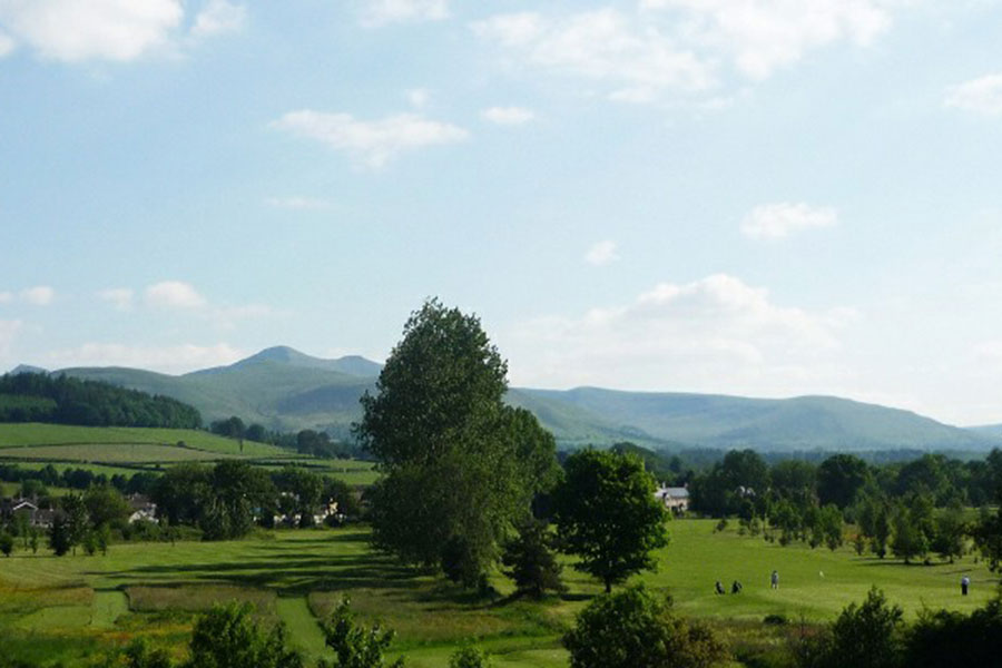 View of Brecon Beacons Golf Club