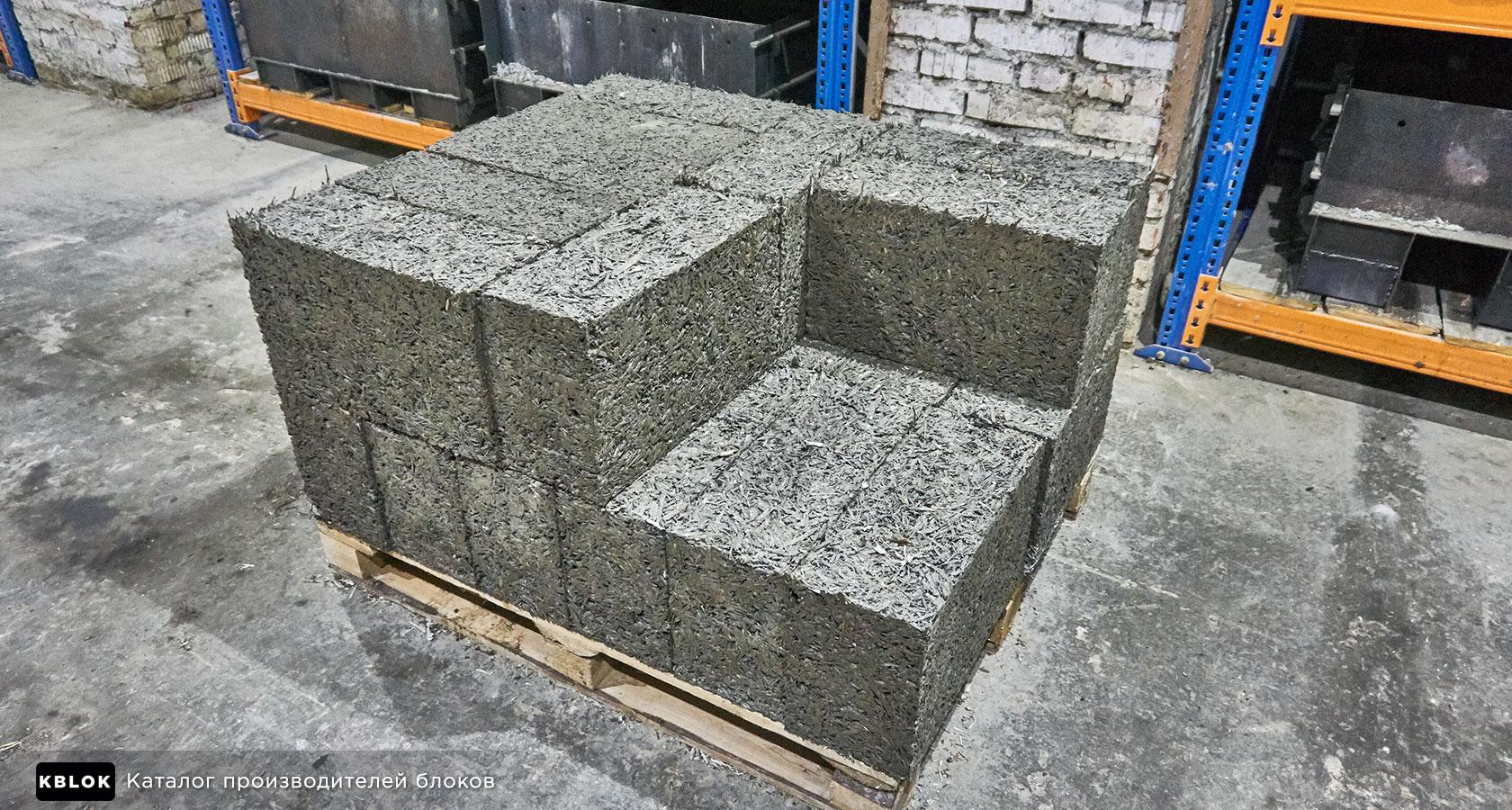 готовые арболитовые блоки