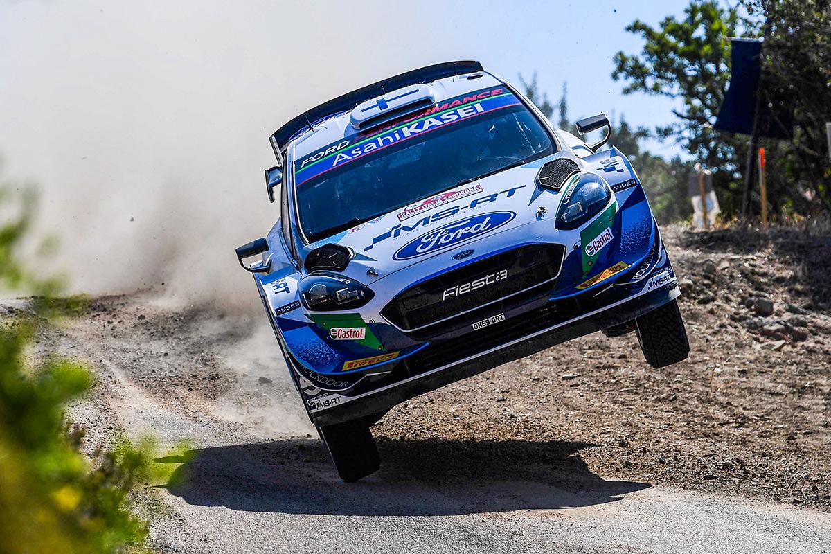 Теему Сунинен и Микко Марккула, Ford Fiesta WRC, ралли Сардиния 2021