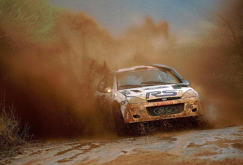 Франсуа Делекур и Даниэль Граталу, Ford Focus RS WRC, ралли «Сафари» 2001