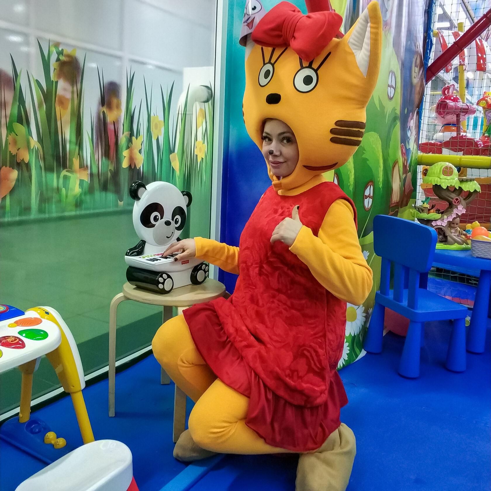 Аниматор Карамелька на детский праздник в Москве