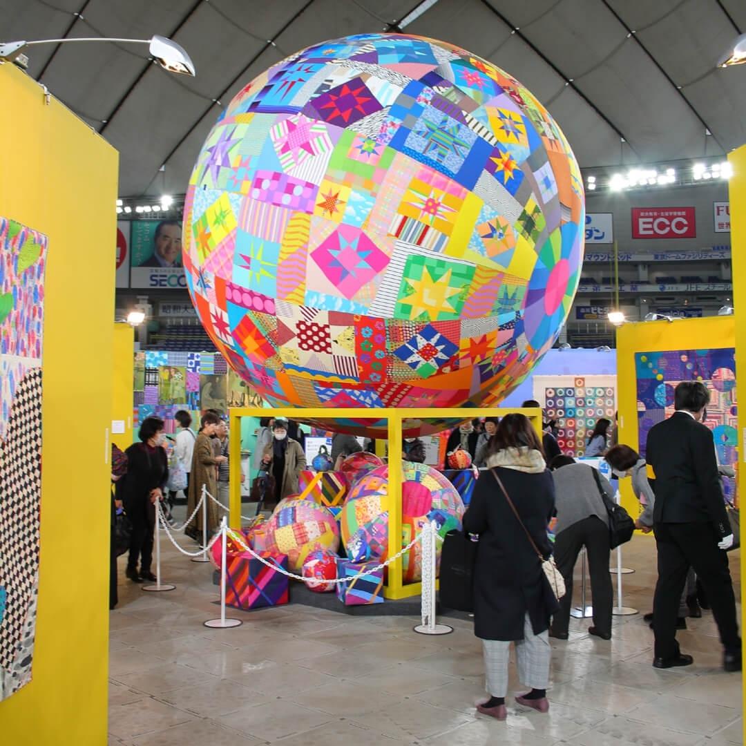 Экспозиция Кейко Гоке «Все работы Кейко» («Keiko's all works») на Токийском фестивале лоскутного шитья