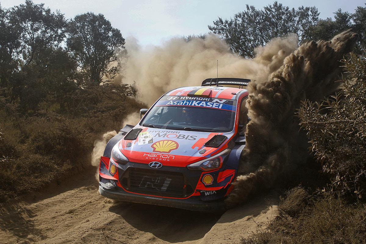 Тьерри Невилль и Мартейн Видаге, Hyundai i20 Coupe WRC, ралли Сафари 2021
