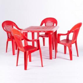 Аренда пластиковой мебели - услуга компании Russ- Event Company