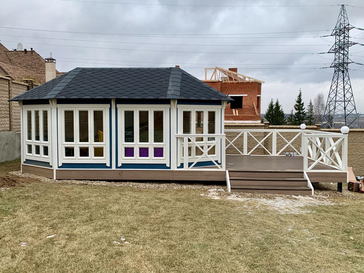 Садовый павильон для дачи