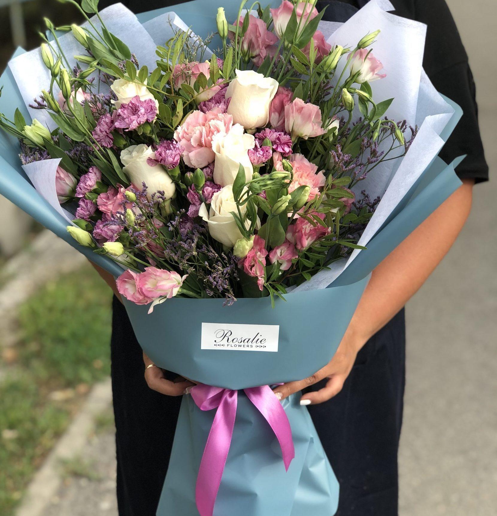 Бесплатная доставка цветов в алматы, цветы