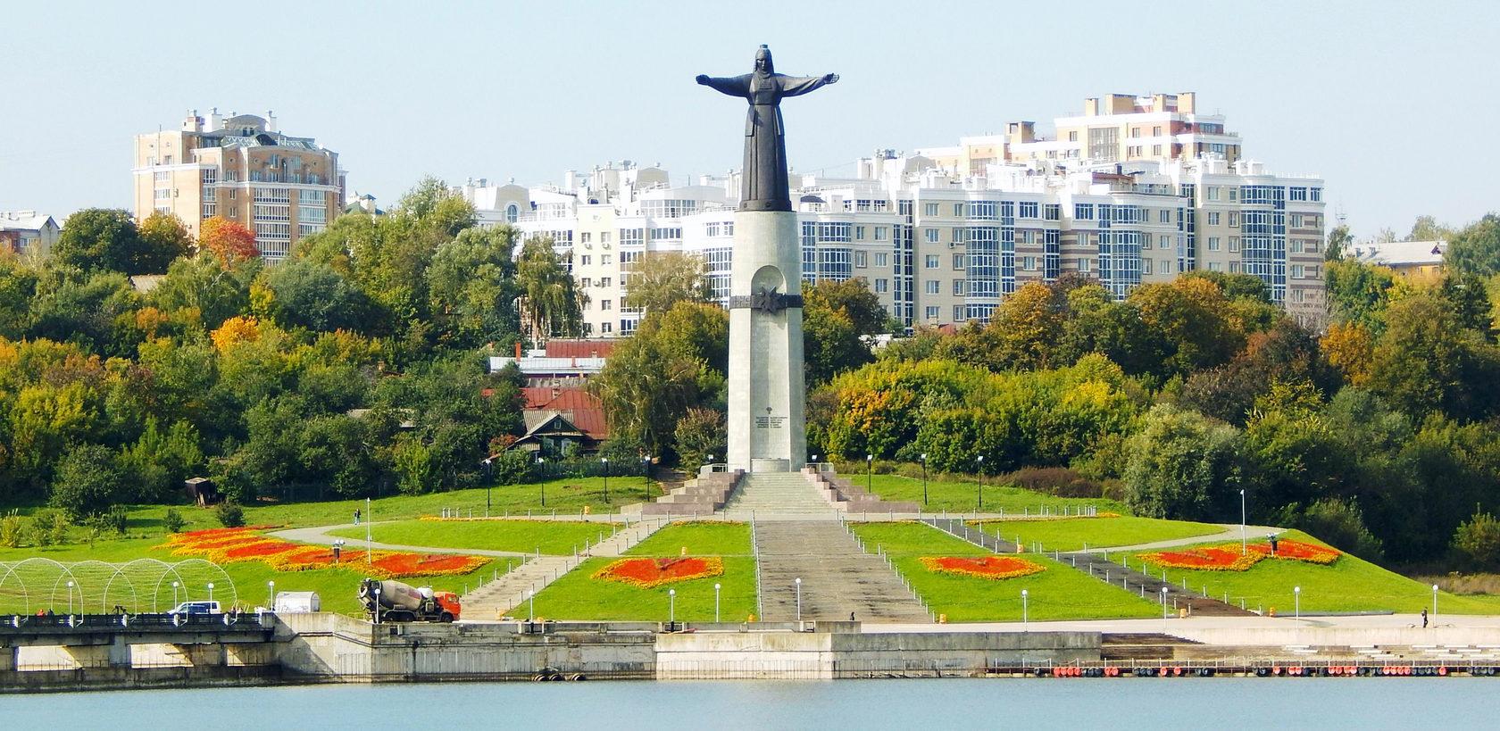 Картинки города чебоксары мать покровительница
