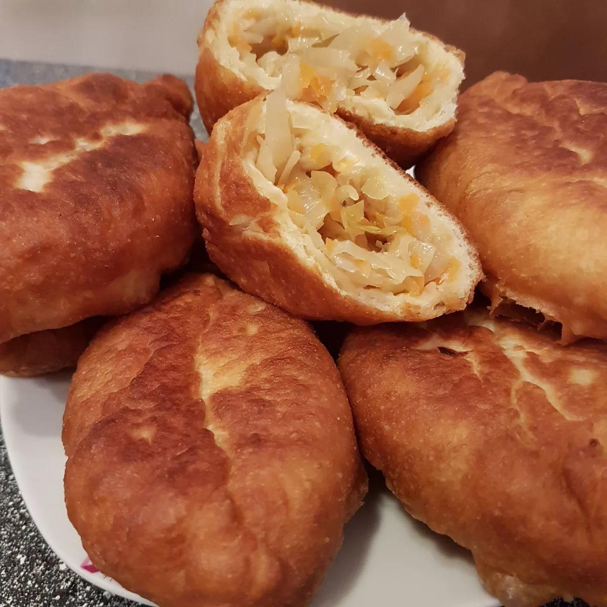 фото домашних пирожков жареные клецки