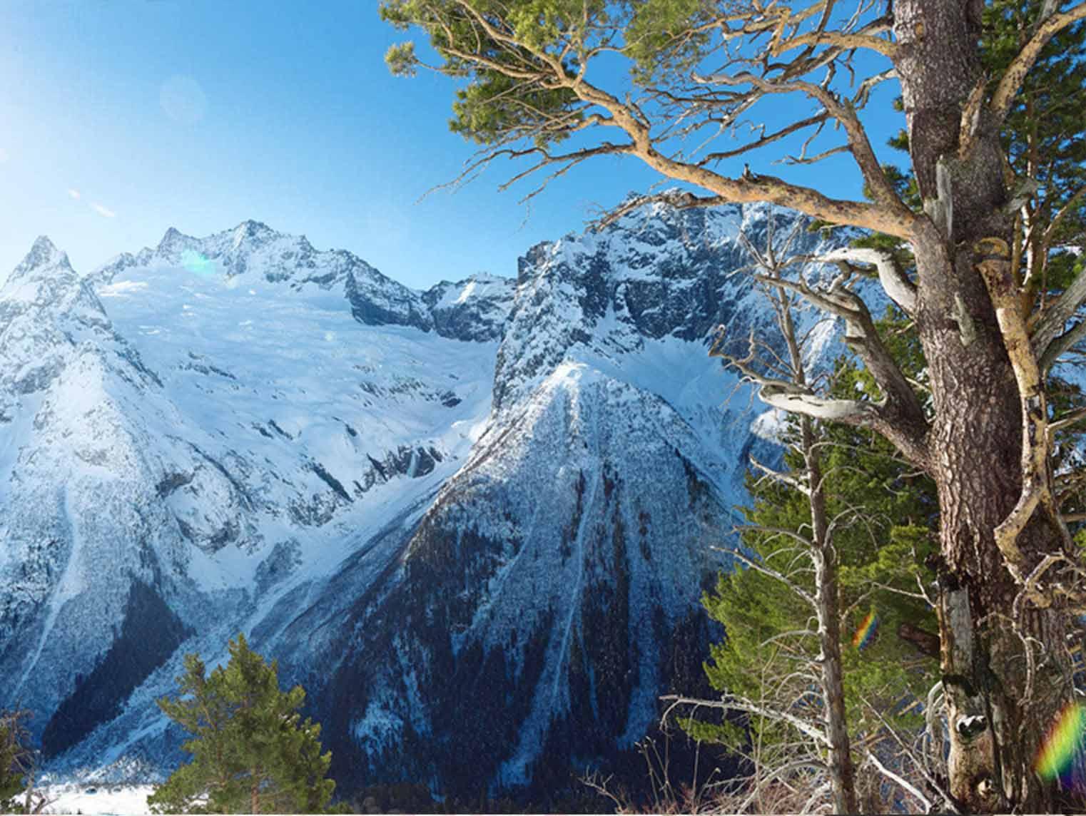 только горы в россии отдых череда зимних праздников