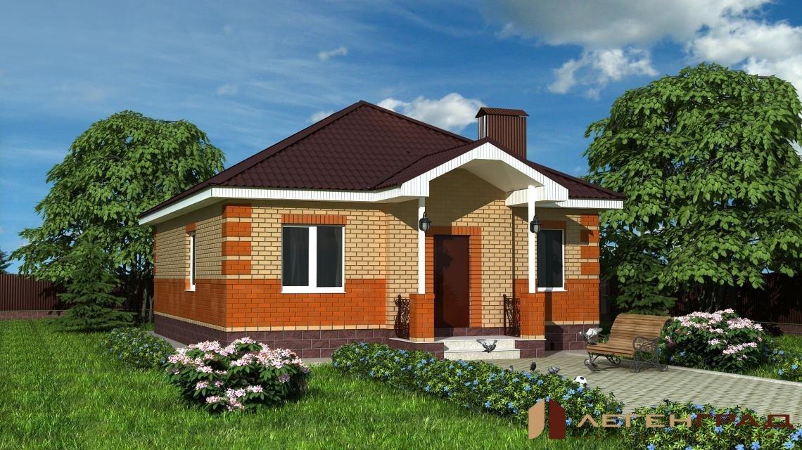 кирпичные одноэтажные дома фото и проекты домов станции можно