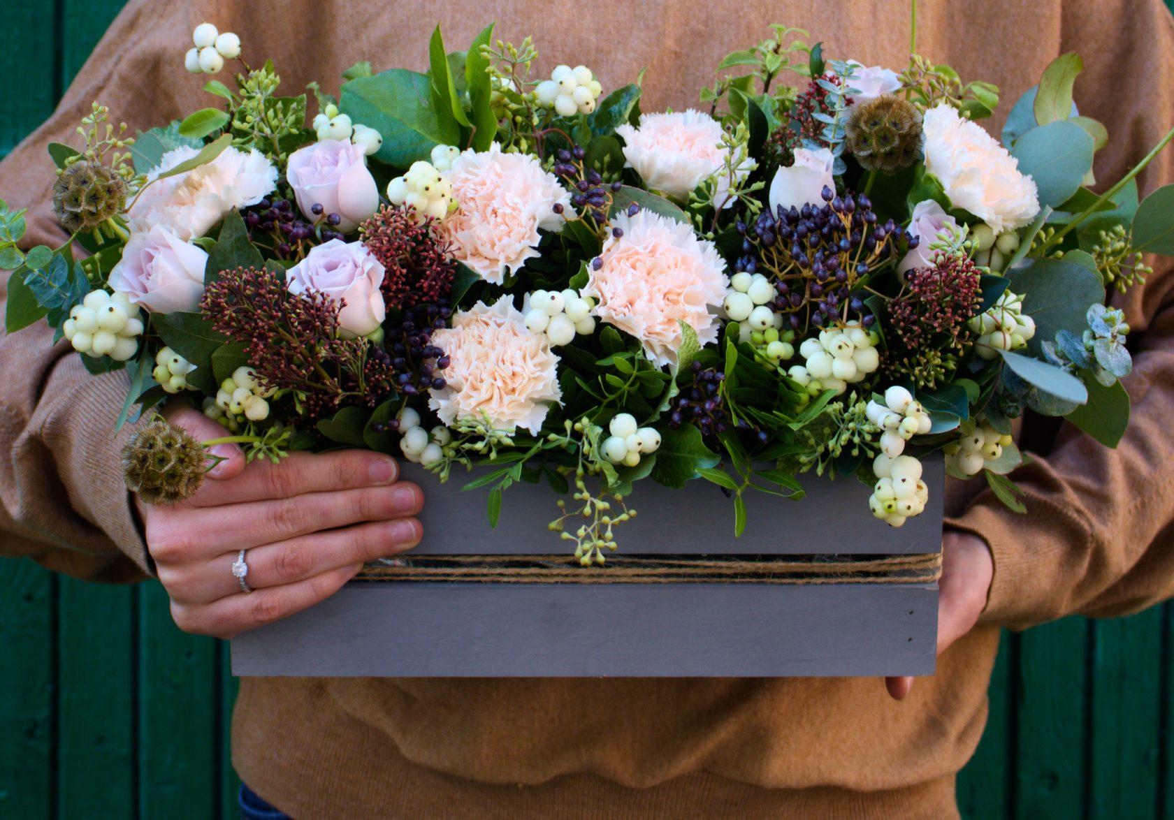 Какой букет подарить маме на 8 марта, цветы для