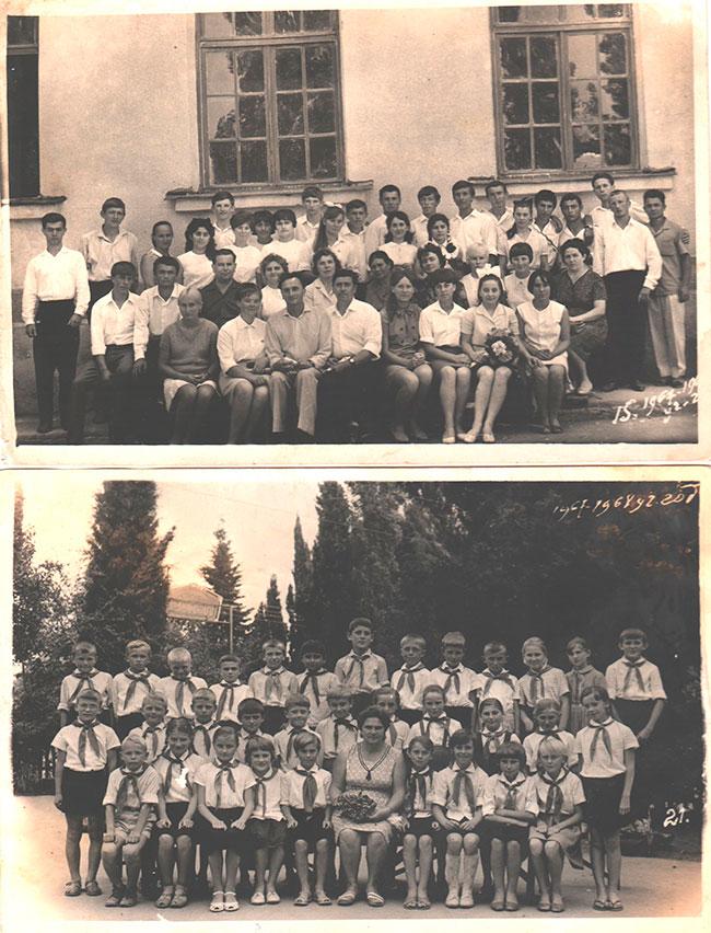 Учащиеся 60-х годов