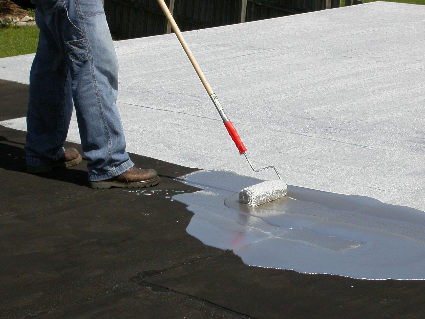 жидкая смола для крыши