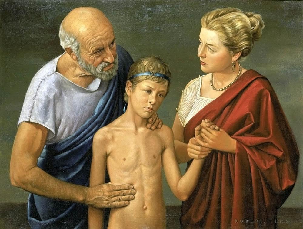 Роберт Том. «Гиппократ: медицина становится наукой» (1952)